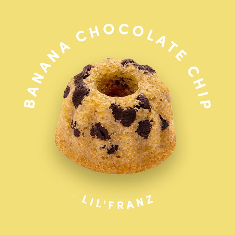 Banana Chocolate Chip Mini Cake